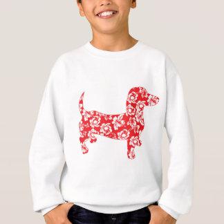 Aloha-Doxie-Red Sweatshirt