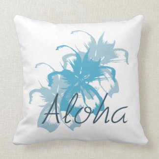 Aloha Floral Throw Pillow