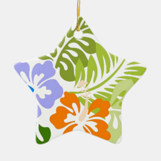 Aloha from Hawaii Ceramic Star Decoration