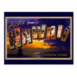 Aloha from Hawaii Post Cards