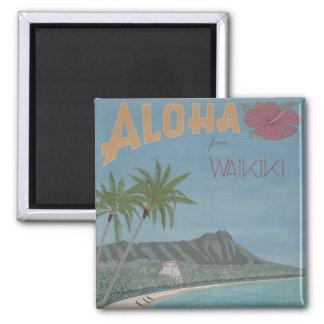 ALOHA from WAIKIKI magnet