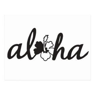 Aloha Greetings Postcard