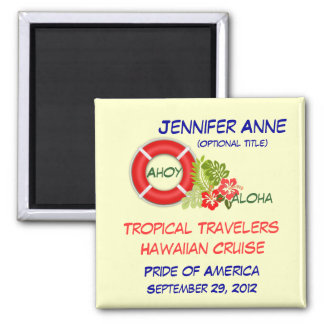 Aloha Group Family Custom Cruise Magnet