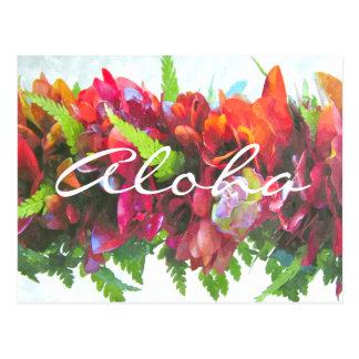 Aloha Haku Postcard