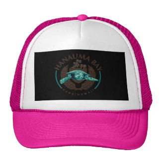 Aloha Hanauma Bay Hawaii Honu Turtle Hat