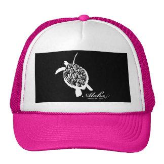 Aloha Hanauma Bay Hawaii Honu Turtle Cap
