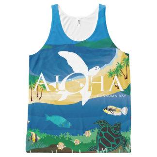 Aloha Hanauma Bay Hawaii  Humuhumunukunukuapua'a All-Over Print Singlet