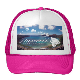 Aloha Hanauma Bay Hawaii Islands Cap