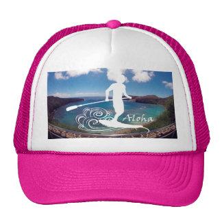 Aloha Hanauma Bay Hawaii Stand Up Paddling Cap