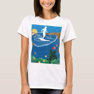 Aloha Hanauma Bay Hawaii Surfing 120 T-Shirt
