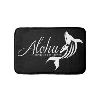 Aloha Hanauma Bay Hawaii Whale Bath Mat