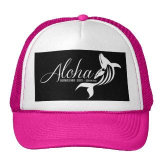 Aloha Hanauma Bay Hawaii Whale Cap