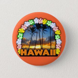 Aloha Hawaii 6 Cm Round Badge