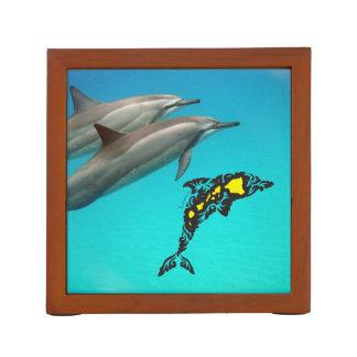Aloha Hawaii Dolphin and Hawaii Islands Desk Organiser