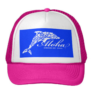 Aloha Hawaii Dolphin Cap