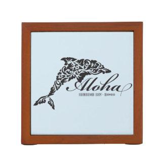 Aloha Hawaii Dolphin Desk Organiser