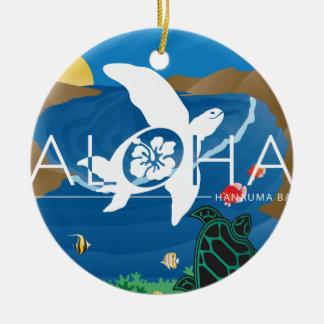 Aloha Hawaii Hanauma Bay Ceramic Ornament