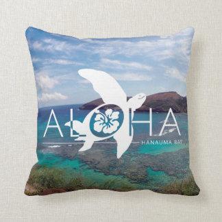 Aloha Hawaii Honu Turtle Cushion