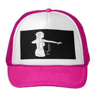 Aloha Hawaii Hula Dancer Mesh Hat