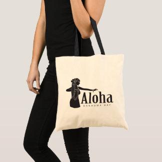 Aloha Hawaii Hula Dancer Tote Bag