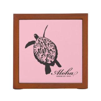 Aloha Hawaii Islands and Turtle Desk Organiser