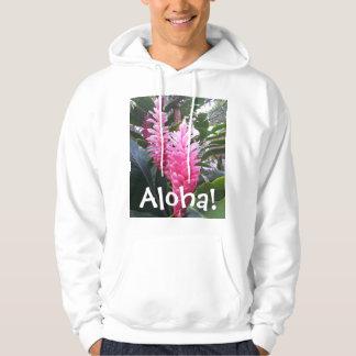 Aloha Hawaii Islands Red Ginger Hoodie