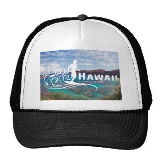 Aloha Hawaii Islands Surfing Cap