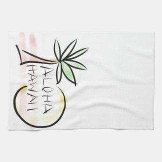 Aloha Hawaii Palm Towel