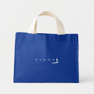 Aloha Hawaii Stand Up Paddling Mini Tote Bag