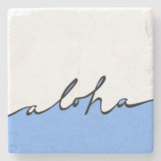 Aloha Hawaii Stone Coaster