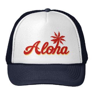 Aloha Hawaii Vintage Palm Tree Cap