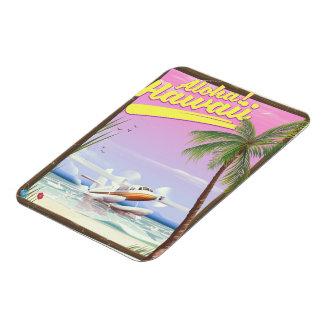 Aloha! Hawaii Vintage style travel poster Magnet