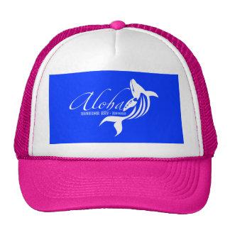 Aloha Hawaii Whale Mesh Hats