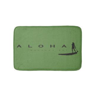 Aloha Hawaii Windsurfing in Hawaii Bath Mat