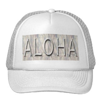 Aloha Hawaiian hat Trucker Hat