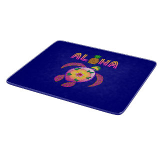 Aloha Hawaiian Honu Turtle Cutting Board