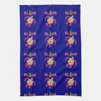 Aloha Hawaiian Honu Turtle Tea Towel