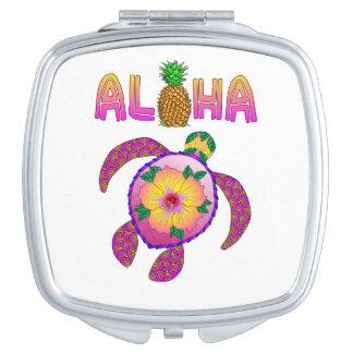 Aloha Hawaiian Honu Turtle Vanity Mirrors