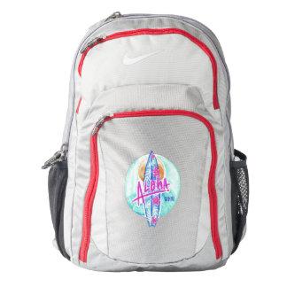 Aloha Hawaiian Surfer custom monogram backpacks