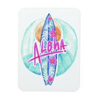 Aloha Hawaiian Surfer magnet