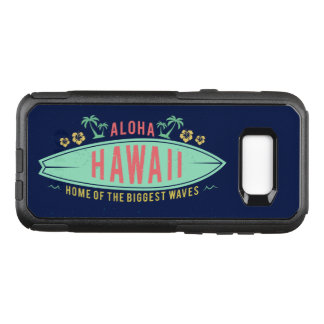 Aloha Hawaiian Surfer phone cases