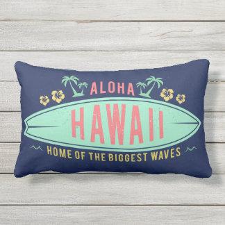 Aloha Hawaiian Surfer throw pillows