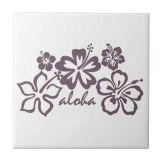 aloha hibiscus Hawaii Theme Ceramic Tile