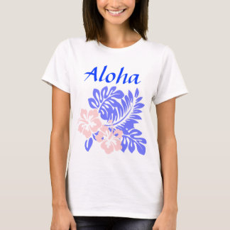 Aloha hibiscus womens shirt