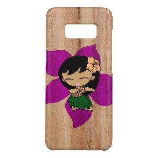 Aloha Honeys Hawaiian Hula Girl Faux Wood Case-Mate Samsung Galaxy S8 Case