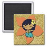 Aloha Honeys Hula Girl Magnets