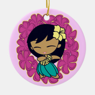Aloha Honeys Hula Girl Ornaments