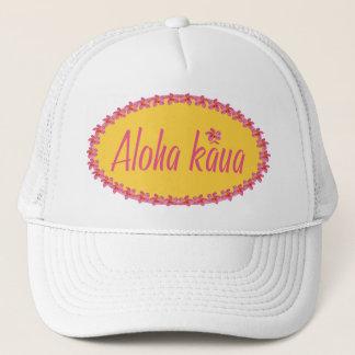 Aloha kaua-Yellow Trucker Hat