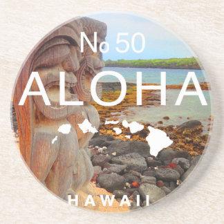 Aloha No 50 Tiki Coaster
