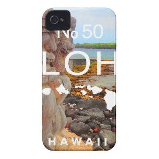 Aloha No 50 Tiki iPhone 4 Covers